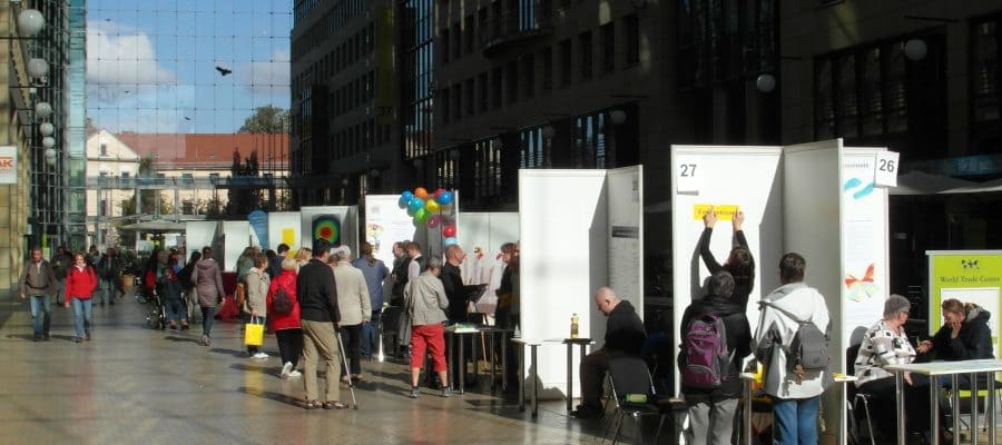 11. Selbsthilfetag in Dresden im World Trade Center (WTC)